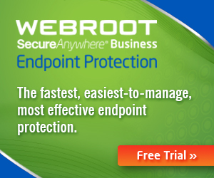 Webroot SecureAnywhere Business Endpoint Protection - Free Trial