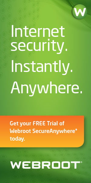Webroot SecureAnywhere Complete - Free Trial